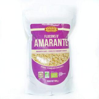 Copos de amaranto ecológico, bolsa de 500 gramos