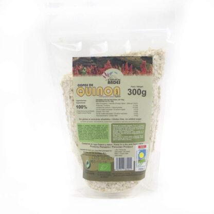 Copos de quinoa ecológica envase de 300 gramos