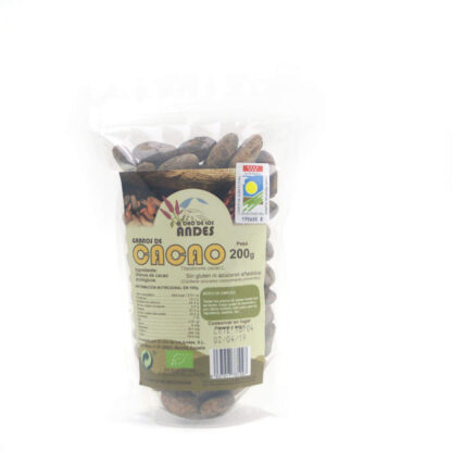 Cacao en grano 200 gramos