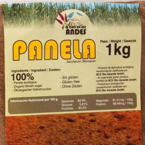 La panela es un producto muy nutritivo que conserva todas las propiedades de la caña de azúcar (minerales y vitaminas).