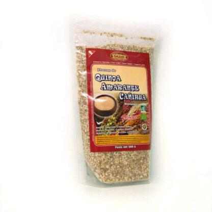 Semillas tradicionales andinas La cañihua es de la misma familia que la quinoa, pero sus semillas son más pequeñas y marrones, sabor ligeramente achocolatado. El amaranto, sabor muy fino y aromático.