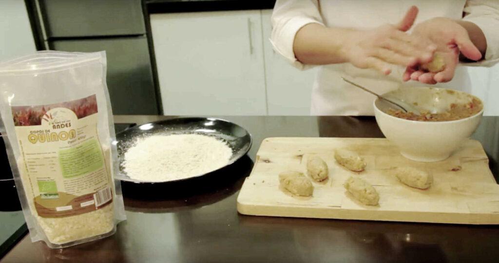 Selección de recetas de quinoa y maca para comer sano