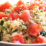 Rica y sana ensalada de quinoa