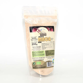 Harina de Maca roja ecológica, envase de 200 gramos