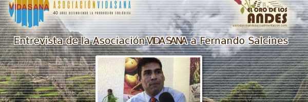 Entrevista a Fernando Salcines en la Asociación Vidasana