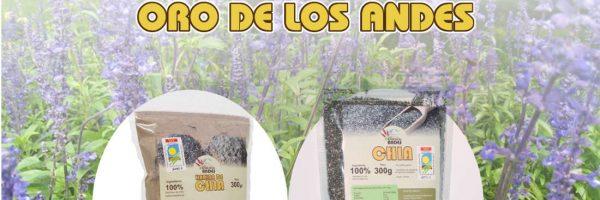 Harina de chia Del Oro de los Andes