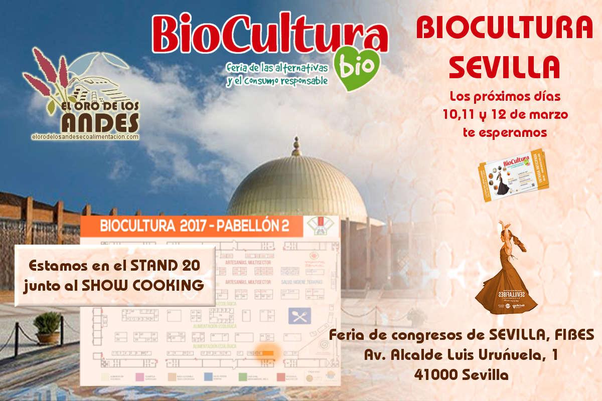 El oro de los andes en biocultura de sevilla 2017