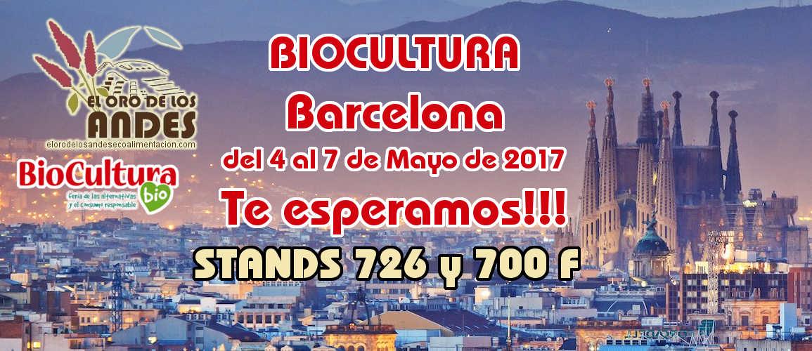 Biocultura, Barcelona la feria de productos ecológicos y consumo responsable