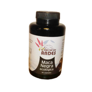 Maca negra en cápsulas de 700 mg