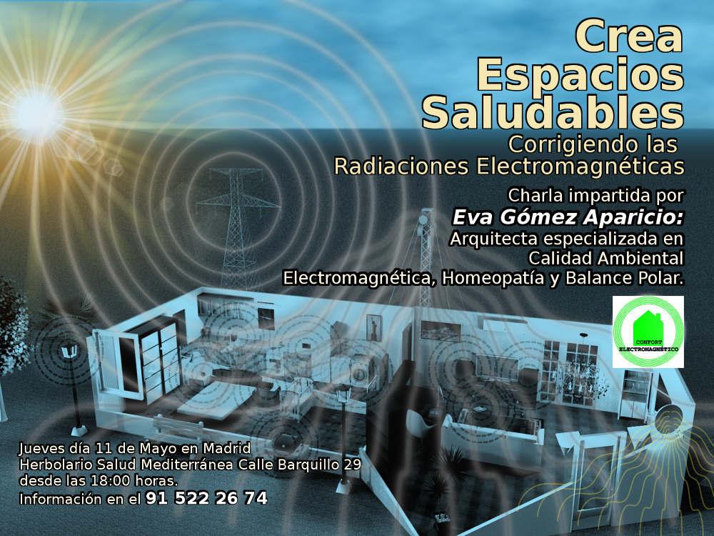Crea espacios saludables - Corrigiendo las radiaciones electromagnéticas
