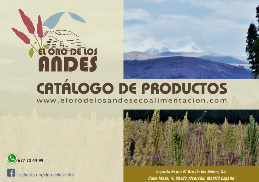Catalogo El Oro de lo Andes 2017