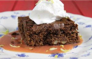Sana y deliciosa receta de brownie