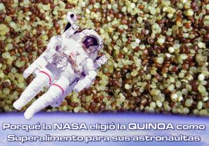 La Nasa eligió la quinoa como alimento para sus astronautas en lanzamientos de larga duración
