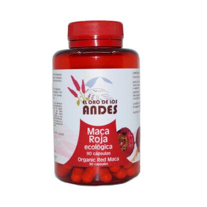 Maca roja en cápsulas de 700 mg