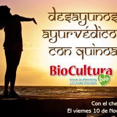 Desayunos Ayurvédicos con Quinoa showcooking biocultura