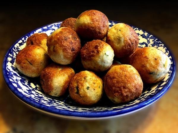 receta de croquetas de quinoa y cahmapiñones