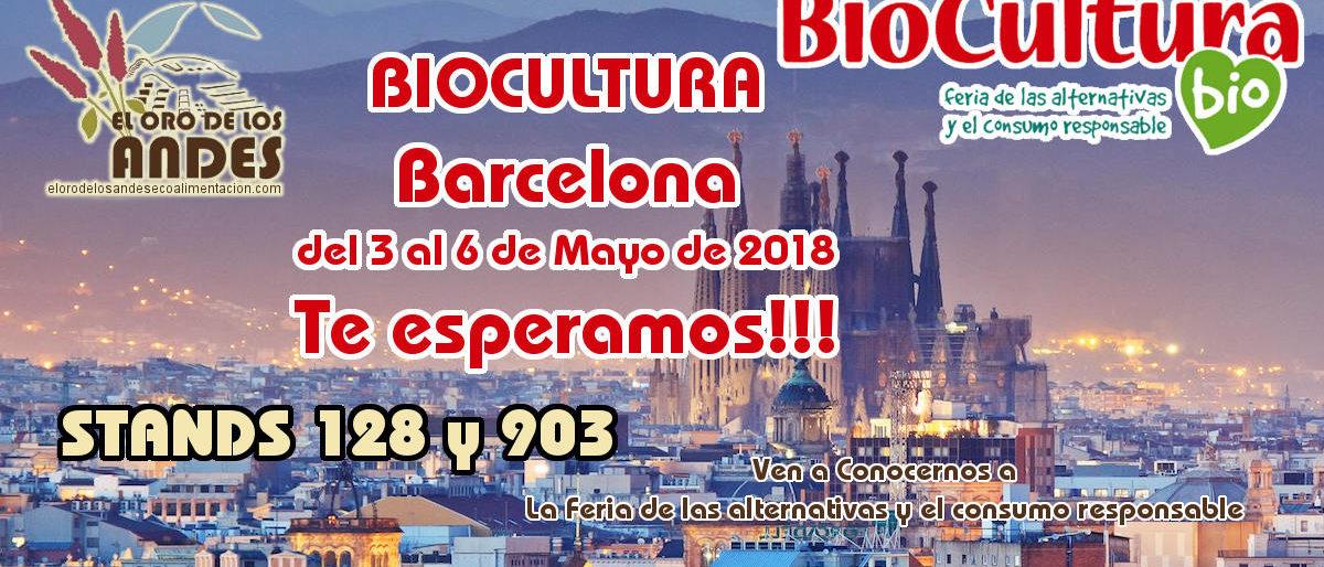 El oro de los Andes en Biocultura de Barcelona 2018