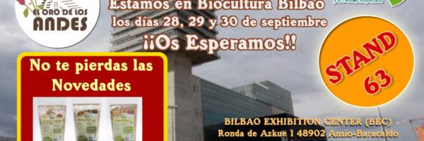 Estamos en Biocultura de Bilbao 2018