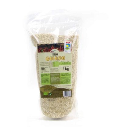 Bolsa de quinoa blanca ecológica de un kilogramo