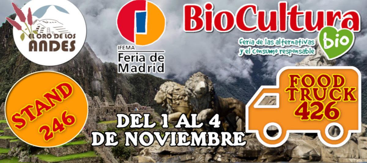 Feria de Biocultura de Madrid 2018