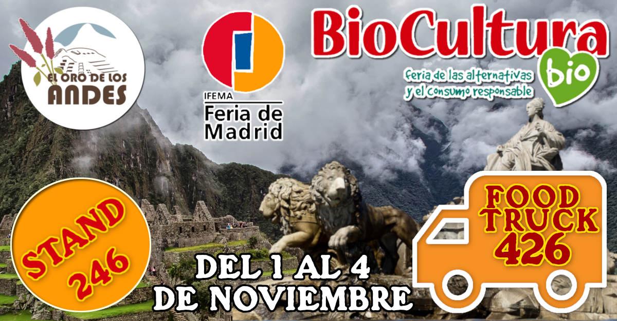 Feria de Bioculura de Madrid 2018