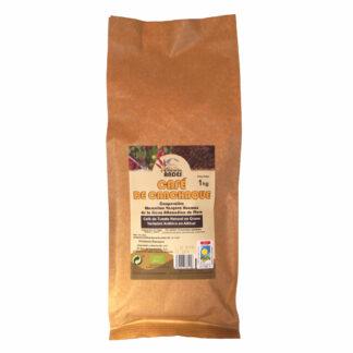 Café de tueste natural en grano 1kg Café de Canchaque (El Oro de los Andes)