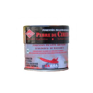 Salero de Pimentón ecológico ahumado picante de 30 gr