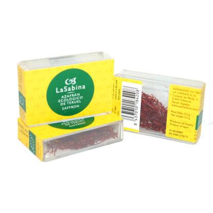 Azafrán de La Carrasca, ecológico 0,5 gramos
