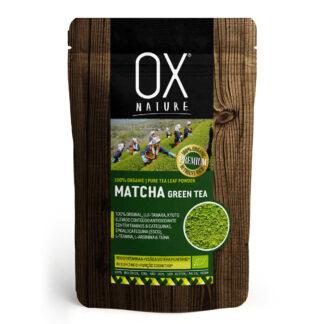 OX Nature, té verde en polvo