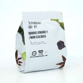 Paquete de Rooibos de jengibre y limón ecológico