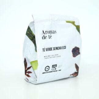 Paquete de te verde sencha ecológico de 50 g