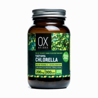 OX Nature Yaeyama Chlorella 200 mgramos