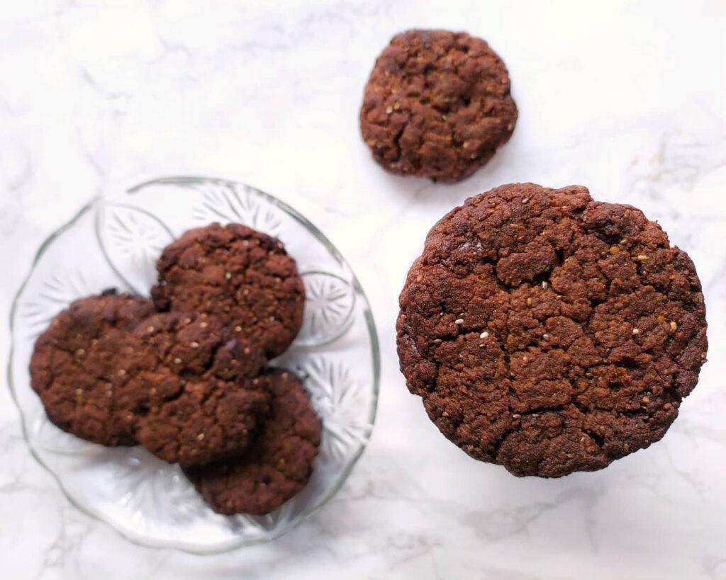Receta de galletas veganas de quinoa y chocolate