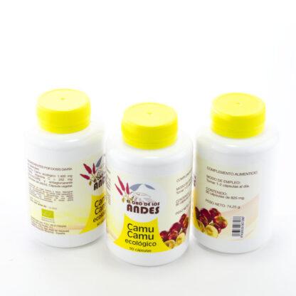 Capsulas de Camu Camu, 90 caps. 825 mg, ,grupo