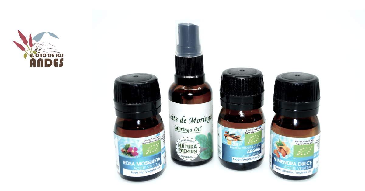 Aceites vegetales y cosméticos