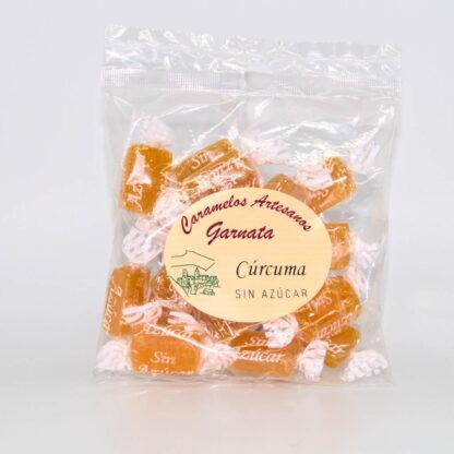 Caramelos Artesanos Garnata sin Azúcar de Cúrcuma 100 gr