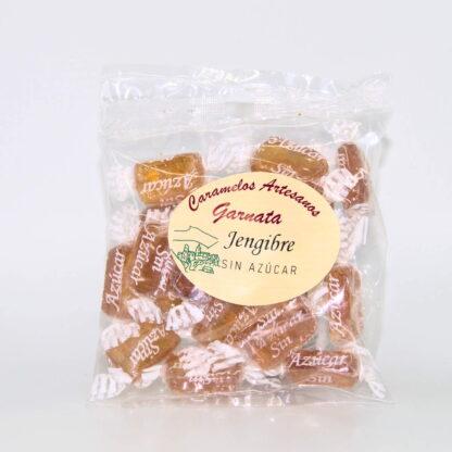 Caramelos Artesanos Garnata sin Azúcar de Jengibre 100 gr