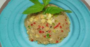 Chaufa de quinoa