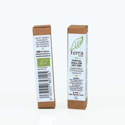CBD OIL Aceite de extracto vegetal de cáñamo 5ml