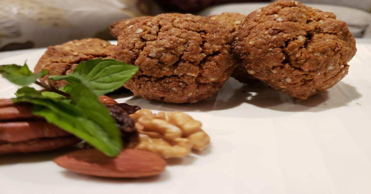 Receta de galletas con copos de quinoa