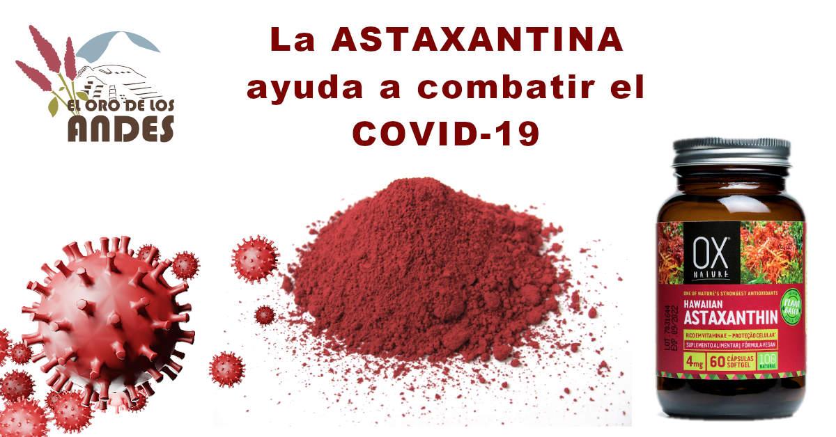 La Astaxantina puede ayudar a combatir el COVID 19