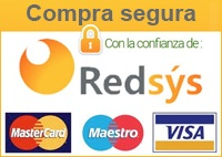 Pago seguro a través de TPV virtual de REDSYS