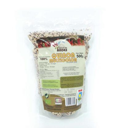 Quinoa multicolor 500 gramos