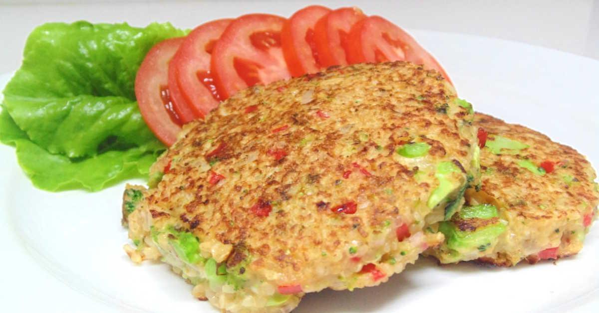 Receta de hamburguesa de quinoa y verduras