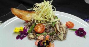 Receta de quinotto del Mediterráneo (rissotto de quinoa)