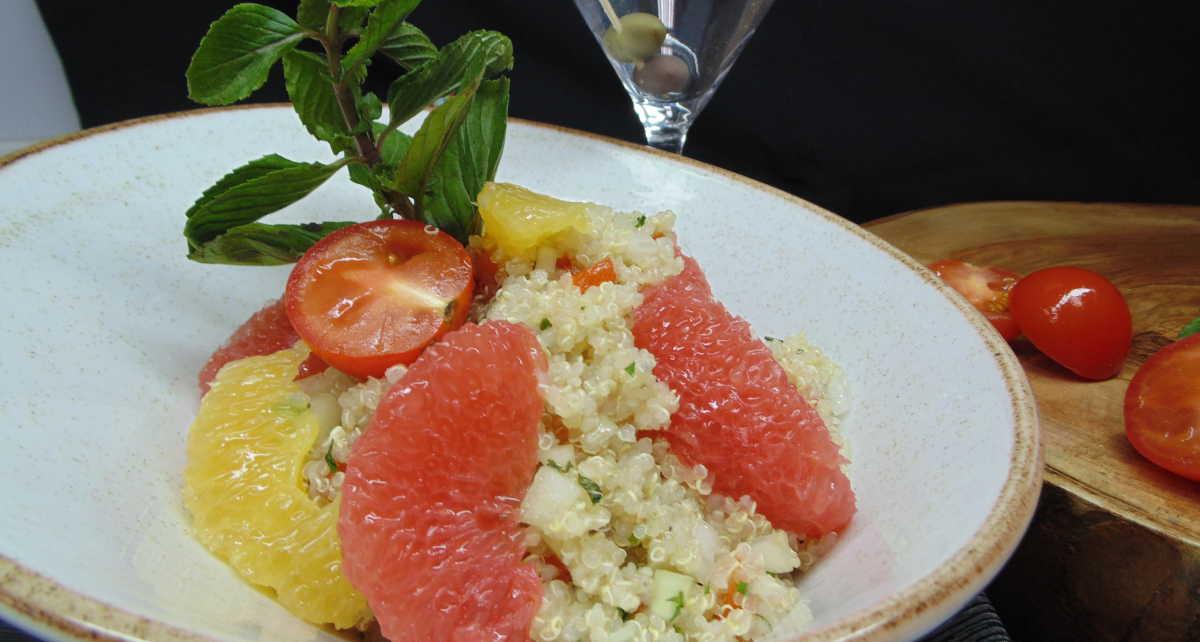 receta de taboule de quinoa con citricos