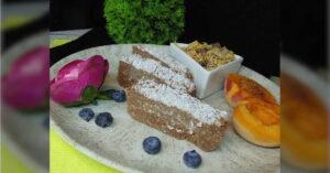 Receta de barritas de quinoa y chocolate