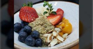 Receta para desyunos saludables con quinoa