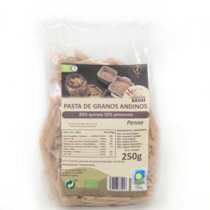 Pasta de Granos Andinos 250 gramos penne