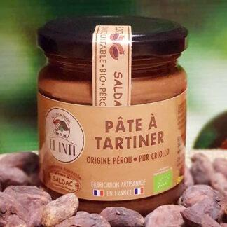 Paté de cacao puro criollo
